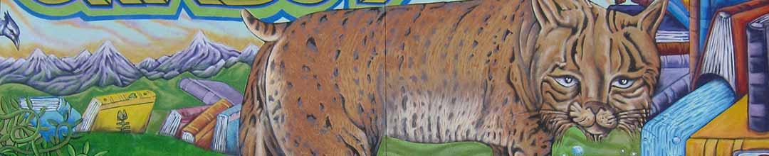 Chabot Bobcat Mural