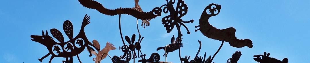 Chabot Garden Gate Detail